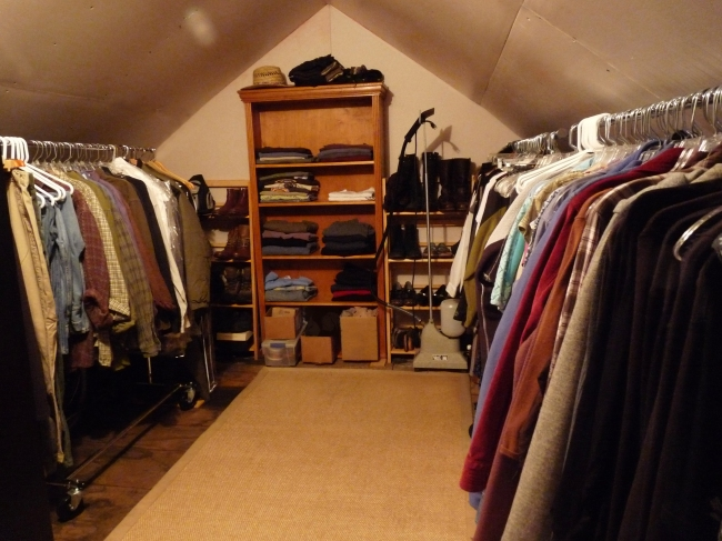 gleasondale closet after