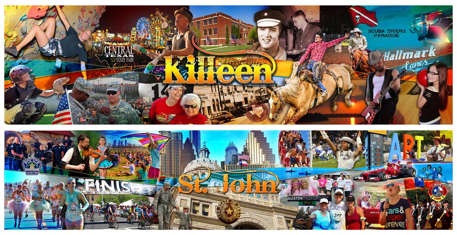 Killeen and St. John Community Murals