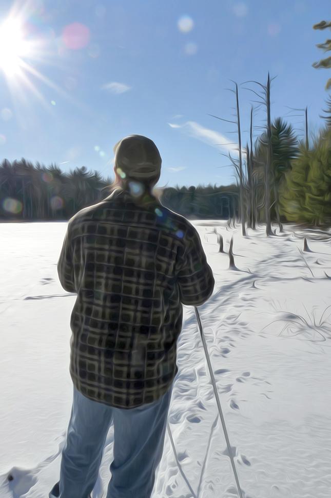 snowshoeing_oilpaint